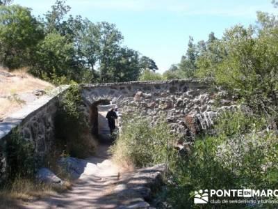 Las Pesquerías Reales - Senderismo Segovia (Ruta de las Pesquerías Reales);campamentos de la comun